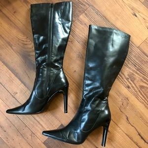 Pazzo Preferred Black Knee Length Boots (Size 8.5)